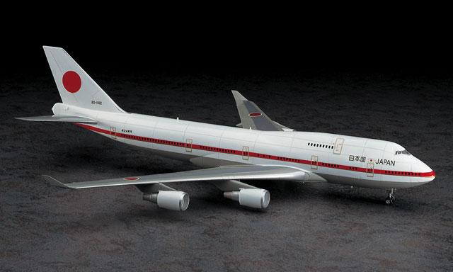 9 日本政府専用機 ボーイング 747-400 | 株式会社 ハセガワ 日本政府専用機 ボーイン