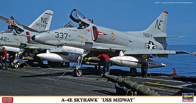 """A-4E スカイホーク """"USS ミッド..."""