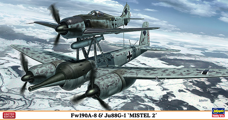 "Fw190A-8 & Ju88G-1 ""ミステル2""..."