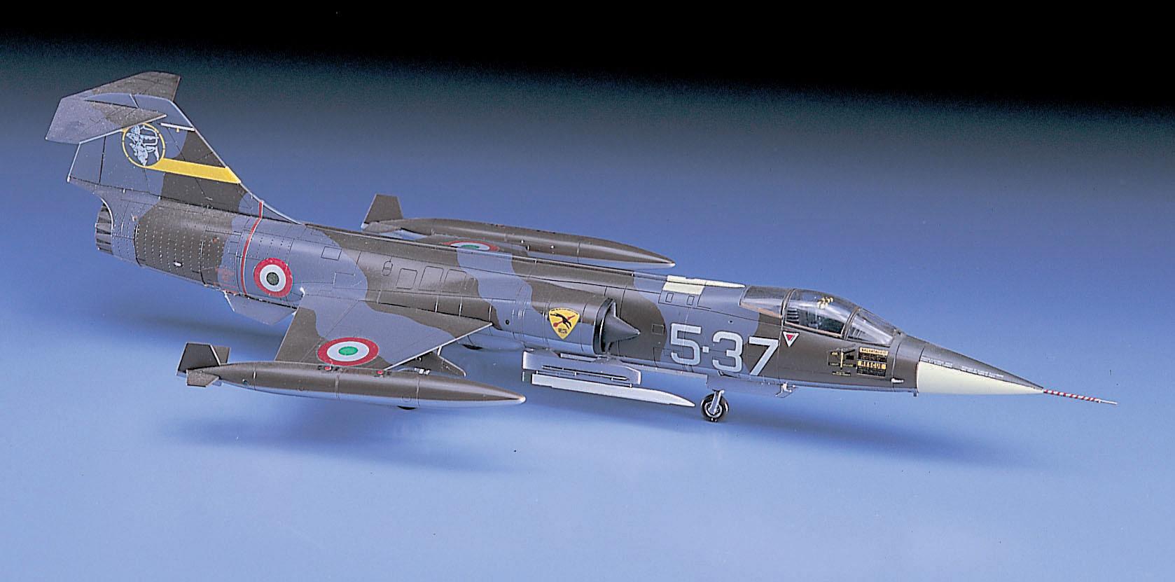 F-104G Starfighter Model D17 Hasegawa 1//72 Italian Air Force F-104S