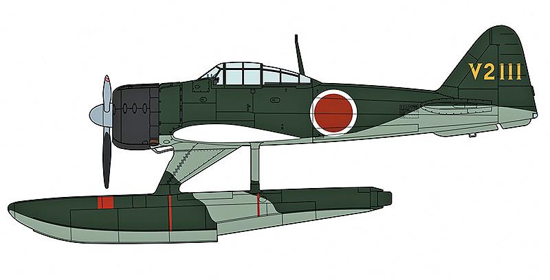 "中島 A6M2-N 二式水上戦闘機 ""第452航空隊"" | 株式会社 ハセガワ"