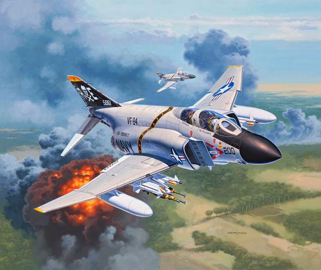Revell 03941-1//72 F-4J Phantom II Neu