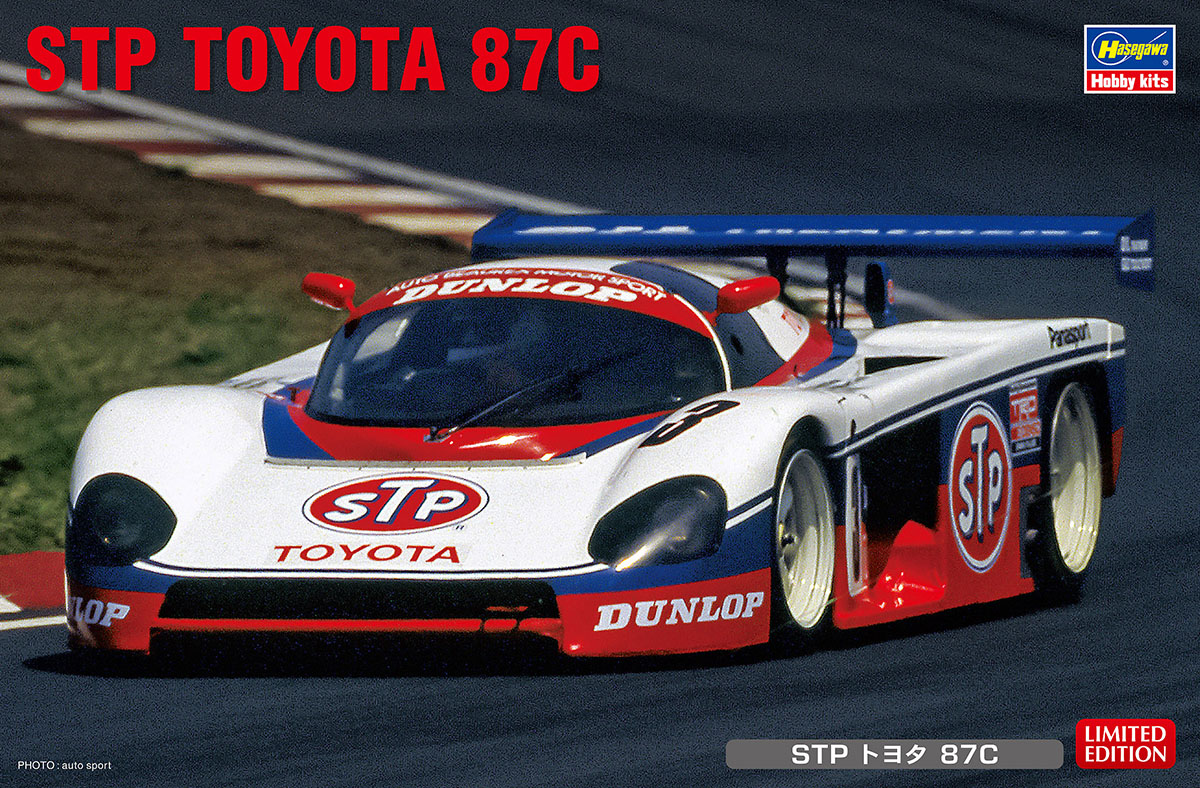 1:24 Toyota 87C, STP (Limited Edition)