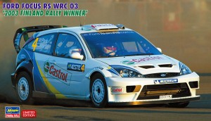 20380 FORD FOCUS RS WRC 03  フィンランド_ol