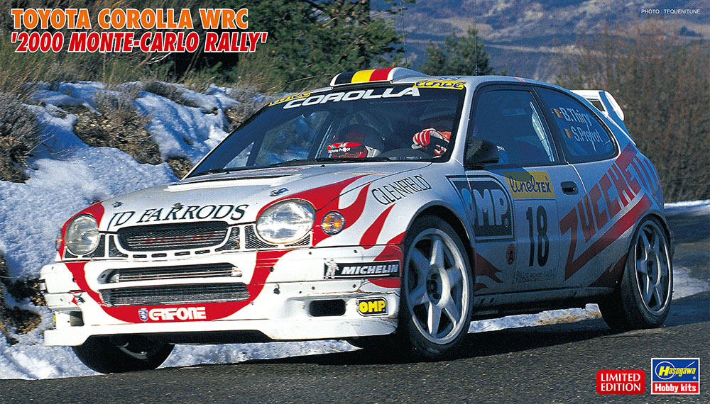 1:24 Toyota Corolla WRC, Monte Carlo Rally 2000 (Limited Edition)