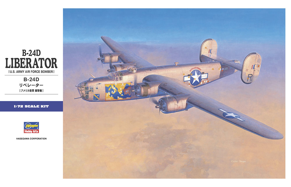 1:72 Consolidated B-24D Liberator