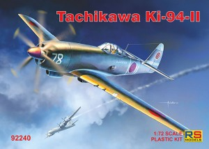 92240 Ki-94 přední strana