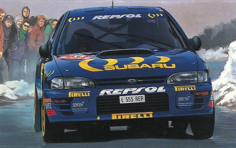 DECAL  1//43 X GAMES 2006 Colin Mc Rae Subaru Imreza