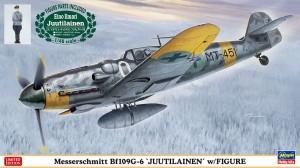 07494 Bf109G-6 JUUTILAINEN w)FIGURE_ol