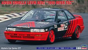 HC37 ADVAN AE92 1989 INTER TEC