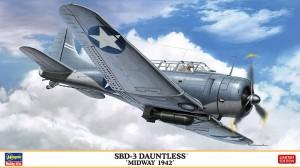 07498 SBD-3 ドーントレス ミッドウェー 1942_BOX