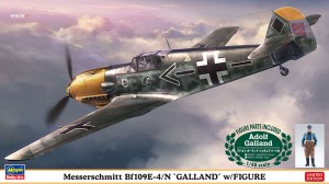 07500 Bf109E-4)N GALLAND w)FIGUE_ol