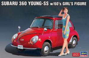 SP491 スバル 360 ヤングSS w)60's ガールズ_BOX
