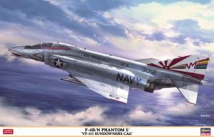 07503 F-4B)N ファントム ll VF-111 サンダウナーズ CAG